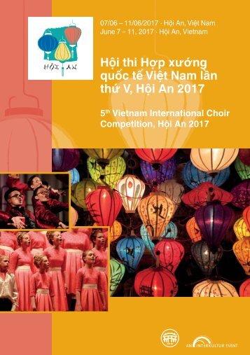 Hoi An 2017 - Program Book