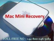 How to fix Mac Mini Recovery Error +448000465289