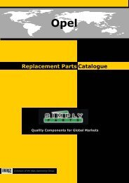 Opel - Simply-Parts