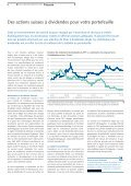 Des actions suisses à dividendes pour votre portefeuille - Raiffeisen - Page 6