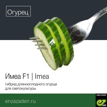 Leaflet Cucumber Imea Russia