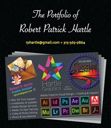 Robert Patrick Hartle's Portfolio April 2017
