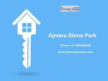 Ajmera Stone Park in Bangalore