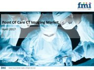 Point Of Care CT Imaging Market: Dynamics, Segments, Size and Demand, 2017 - 2027