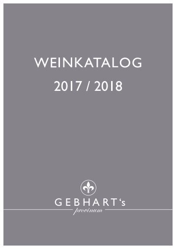 Weinkatalog 2017