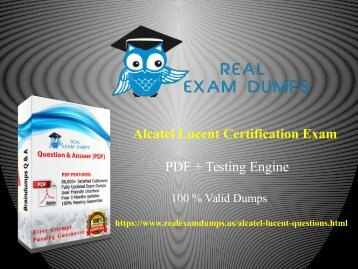 Alcatel-lucent-certification-exam-dumps