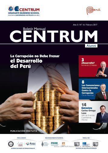 Boletín ALUMNI N° 16 - Febrero 2017