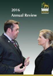 DMWS 2016 Impact Report
