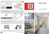 VOX KerraBio Hygiene Wandverkleidungen