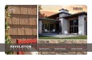 NOVIK Fassadenverkleidungen Sortiment