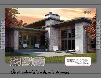 NOVIK Fliedstone Feldstein Fassaden und Wandverkleidung