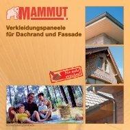 Heering Mammut Fassaden und Dachrandverkleidung