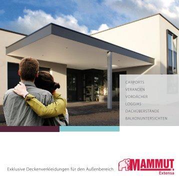 Herring Mammut Extensa Fassadenverkleidung