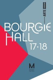 Bourgie Hall – 2017-2018 Season