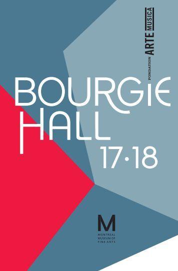 Bourgie Hall – 2017-2018 Season