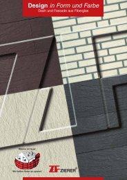 Zierer Design in Form und Farbe Fassadenverkleidungen
