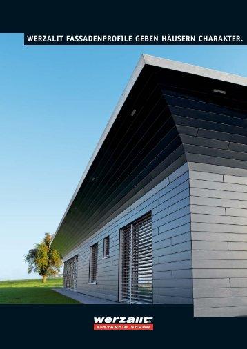 Werzalit Selekta und Siding Fassadenverkleidungen