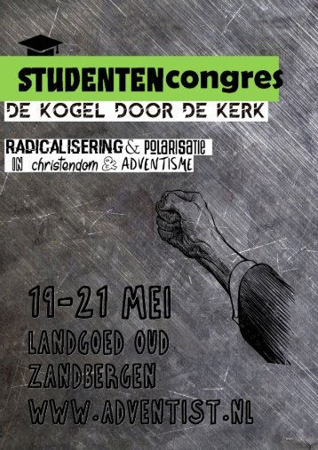 Flyer studentencongres 2017