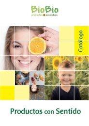 Catálogo BioBio Productos Ecológicos