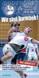 SSSSZACK! HGHB vs. SG WIFT Neumünster