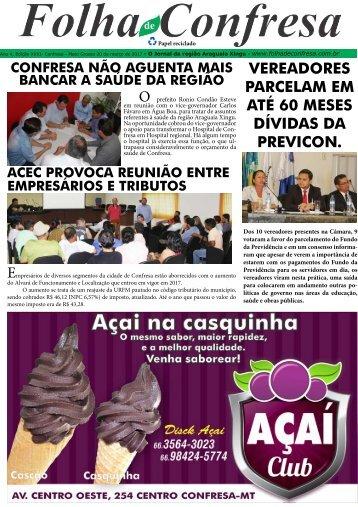 Folha de Confresa XXX