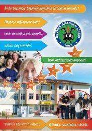 Devrek Anadolu Lisesi Rehberi