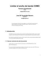 Limitar el ancho de banda COMO Tomasz ... - Redes-Linux.com