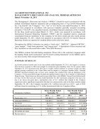 Q3 Financial Report - 2011 - Page 5