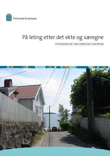 Stedsanalyse side 1-42 - Grimstad kommune