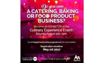 Culinary & Visual Participant Ads