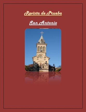 Revista de Prueba San Antonio