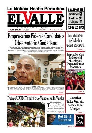 Edición del Viernes 21 de Abril