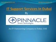 IT Support Services Dubai, IT Outsourcing Company Dubai