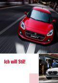 Suzuki SWIFT Fahrzeugprospekt - Page 2