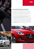 Suzuki SWIFT Fahrzeugprospekt - Page 3