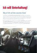 Suzuki SWIFT Fahrzeugprospekt - Page 6