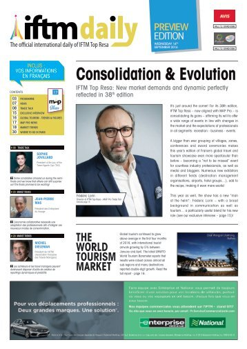 IFTM Daily Preview Edition