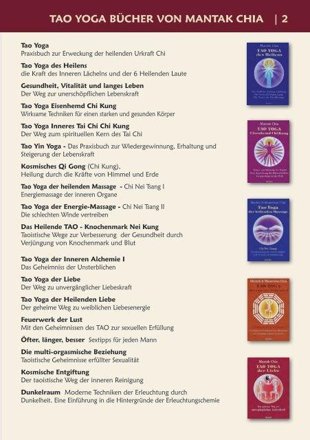 Tao Yoga & QiGong 2017