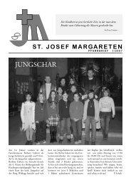 Nach - gedacht Altarstreit in Wien - 5., Pfarre St. Josef