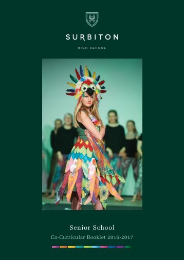 Surbiton Senior Co-Curricular 2016