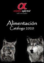 Catálogo AlphaSpirit ALIMENTACIÓN 2017