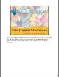 PillsBills PDF