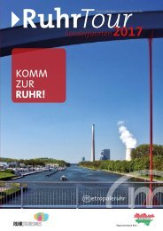 RuhrTour Sonderfahrten 2017