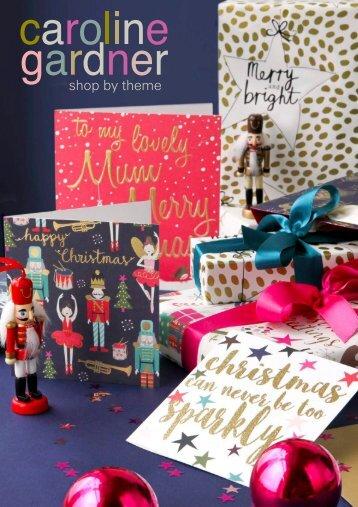 Caroline Gardner Christmas 2017 Catalogue