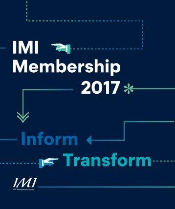 IMI Membership Brochure E Version V2