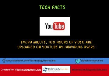 YouTube Tech Fact