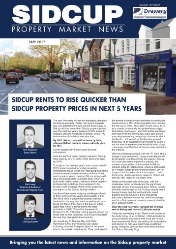 SIDCUP PROPERTY NEWS - MAY 2017