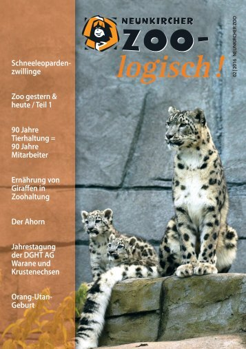 Zoo-logisch! Ausgabe 2/2016