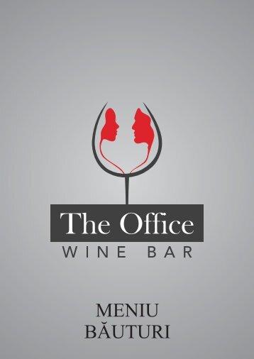 Wine Bar meniu bauturi