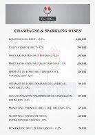 Wine Bar meniu bauturi - Page 2